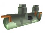 Коалесцентный сепаратор нефтепродуктов c системой «Bay-Pass», отстойником и пескоилоотделителем/20