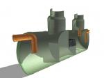 Коалесцентный сепаратор нефтепродуктов c системой «Bay-Pass», отстойником и пескоилоотделителем/5